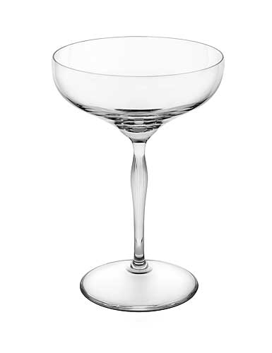 Lalique Crystal, 100 Points Crystal Champagne Coupe By James Suckling, Single