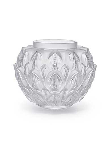 Lalique Cynara Vase, Clear