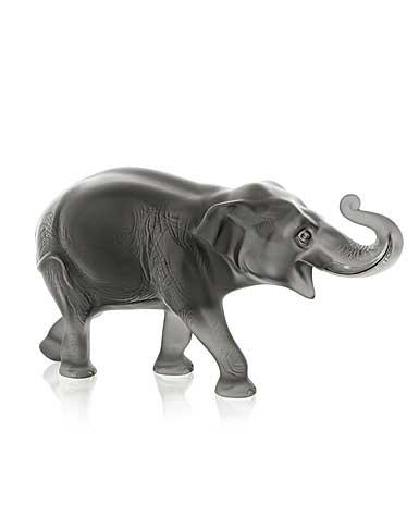 Lalique Sumatra Elephant, Grey