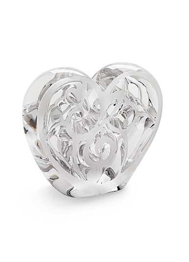 Lalique Elton John Music is Love Heart, Clear
