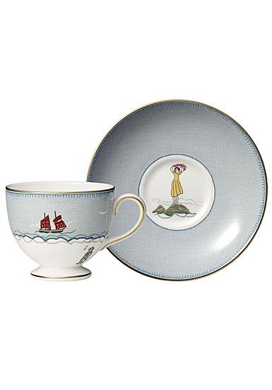 Wedgwood Sailors Farewell Teacup and Saucer