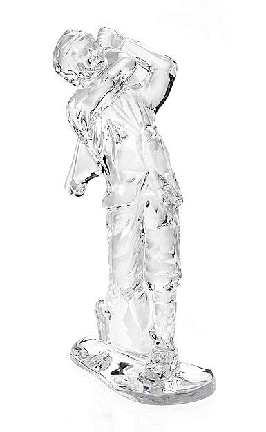 Waterford Crystal Golfer Figurine