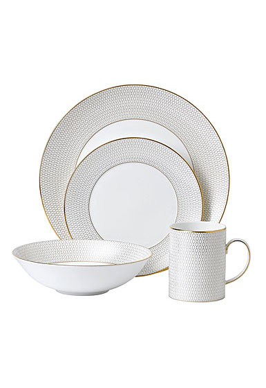 Wedgwood Arris 4 Piece Expressive Place Setting