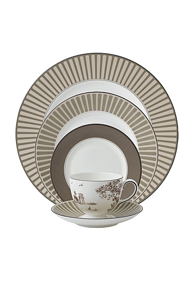 Wedgwood China Parkland 5 Piece Place Setting