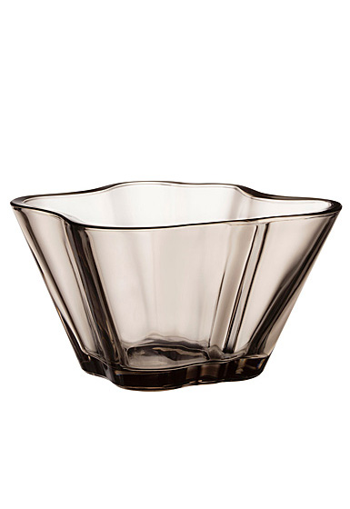 "Iittala Aalto Bowl 3"" Linen"