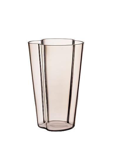"""Iittala Aalto Vase 8.75"""" Linen"""