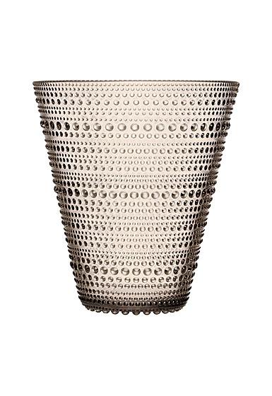 """Iittala Kastehelmi Vase 6"""" Linen"""