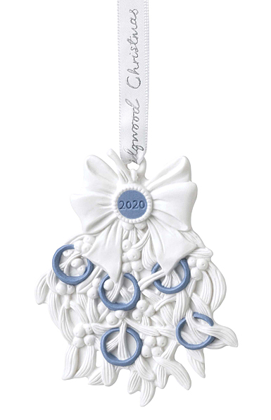 Wedgwood 2020 Annual Five Gold Rings Ornament