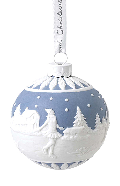 Wedgwood 2020 Skating Ball Ornament