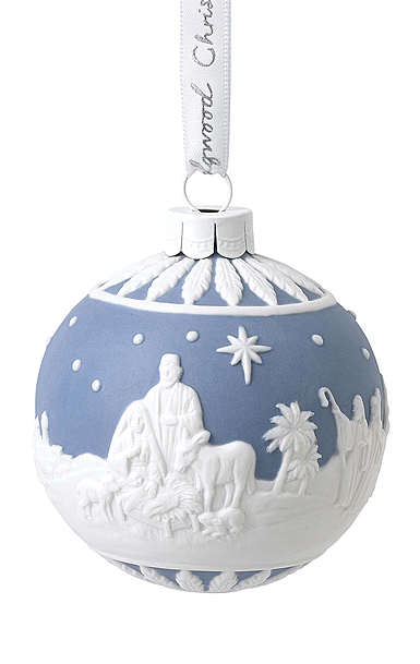 Wedgwood 2020 Nativity Ball Ornament
