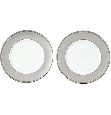 """Wedgwood 2021 Winter White Dinner Plate 10.6"""" Pair"""