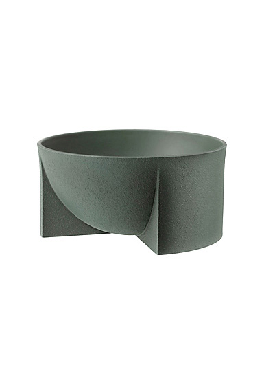 "Iittala Kuru Ceramic Bowl 9.5"" Moss Green"