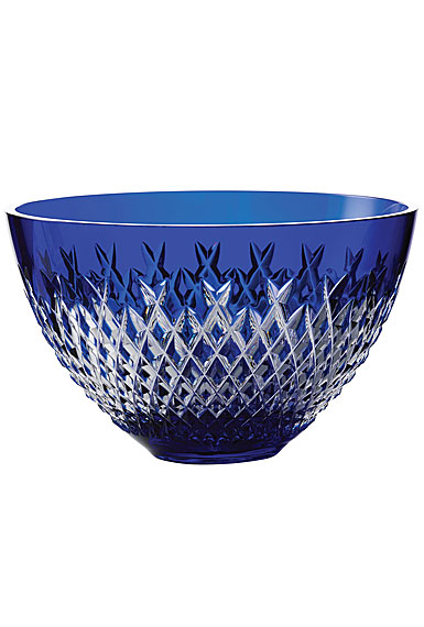 "Waterford Treasures of the Sea, Alana 8"" Bowl Blue"