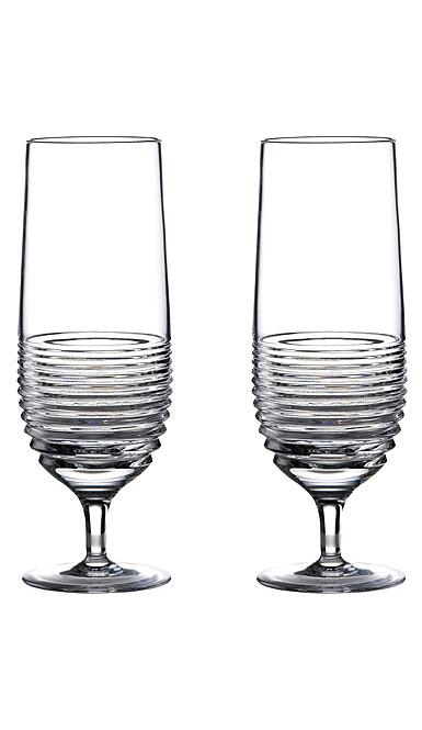 Waterford Crystal Mixology Rum Circon Hurricane Pair