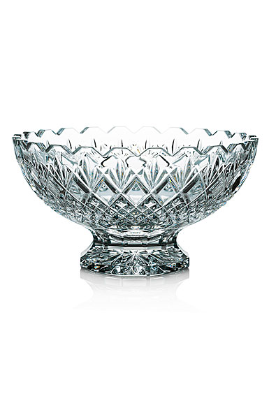 "Waterford Crystal Rosalee Footed 10"" Bowl"