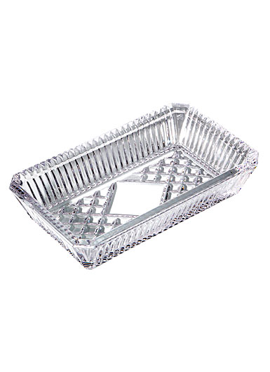 "Waterford Rectangular 7"" Cookie Tray"
