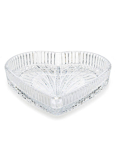 "Waterford Crystal 8"" Heart Tray"