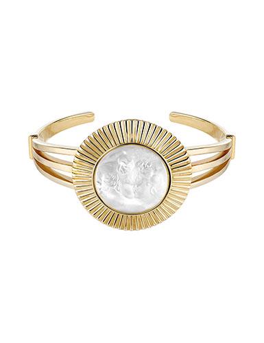 Lalique Crystal Le Baiser Bracelet, Gold Vermeil