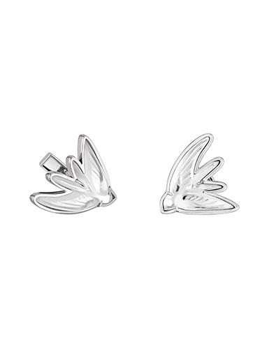 Lalique Hirondelle Cufflinks, Silver