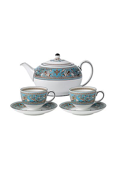 Wedgwood Florentine Turquoise Tea Sset