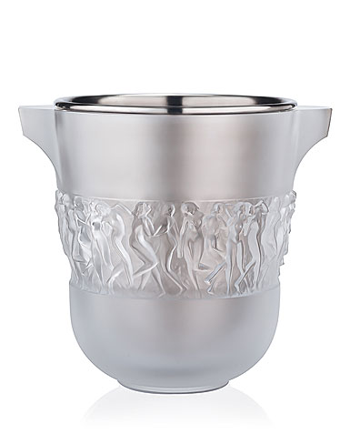 Lalique Bacchantes Crystal Champagne Cooler, Clear