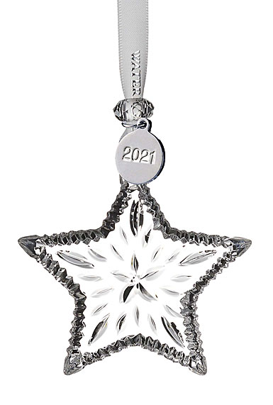 Waterford Crystal 2021 Mini Star Dated Ornament