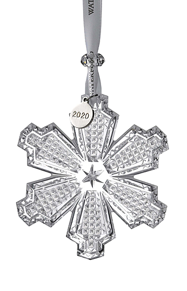 Waterford 2020 Snow Crystal Ornament