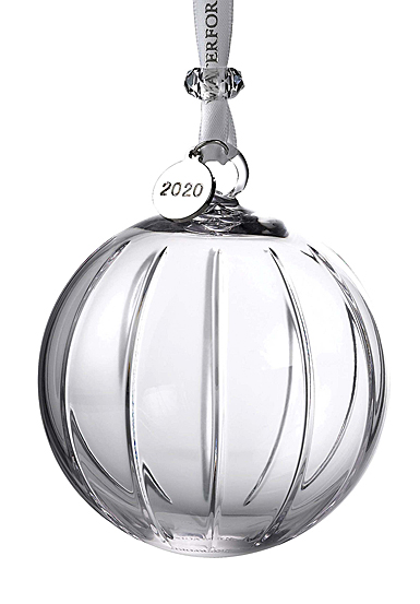 Waterford 2020 Aras Ball Ornament