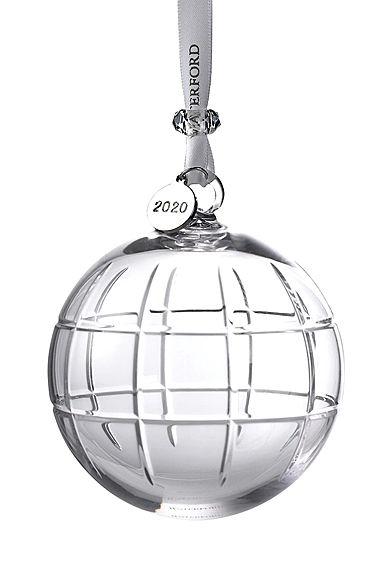 Waterford 2020 Cluin Ball Ornament