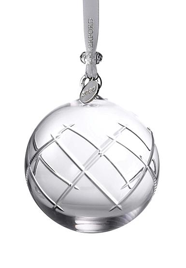 Waterford 2020 Olann Ball Ornament