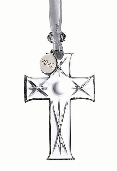 Waterford Crystal 2021 Mini Cross Dated Ornament