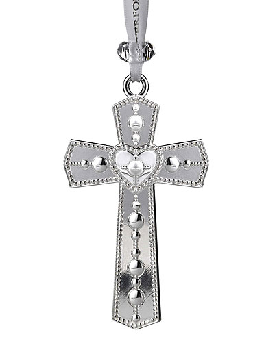 Waterford 2020 Annual Silver Cross Ornament
