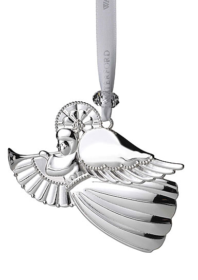 Waterford 2020 Silver Angel Ornament