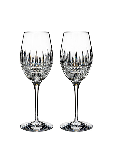 Waterford Crystal Lismore Diamond Essence Wine Pair