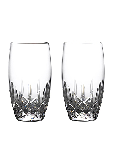 Waterford Crystal Lismore Nouveau Drinking Glass Pair