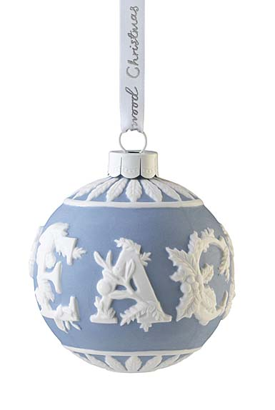 Wedgwood 2021 Peace Bauble Ornament