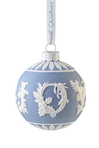 Wedgwood 2021 Joy Bauble Ornament
