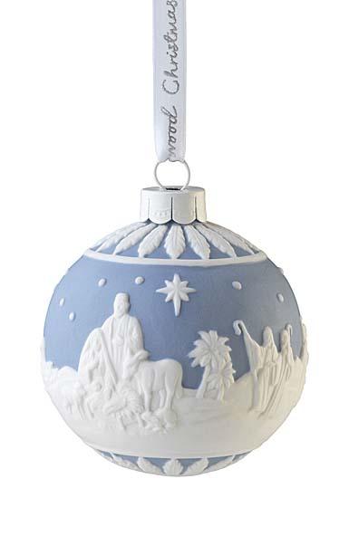 Wedgwood 2021 Nativity Bauble Ornament