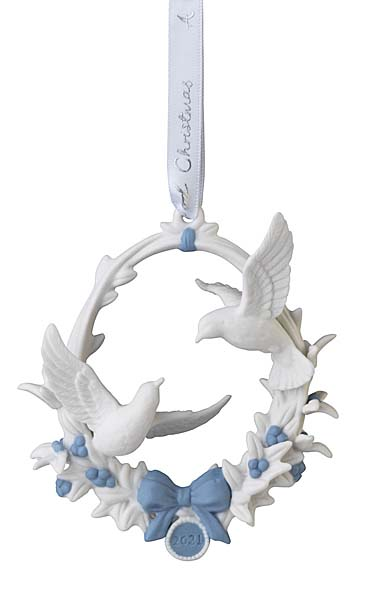 Wedgwood 2021 Our 1st Christmas Ornament