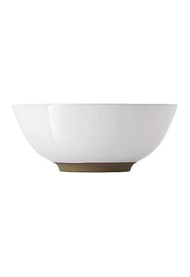 """Royal Doulton Barber and Osgerby Olio White Cereal Bowl 6"""""""