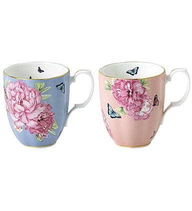 Royal Albert Miranda Kerr Friendship Mug Hope and Tranquility Pair