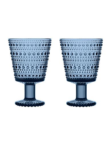 Iittala Kastehelmi Universal Glass Pair Rain