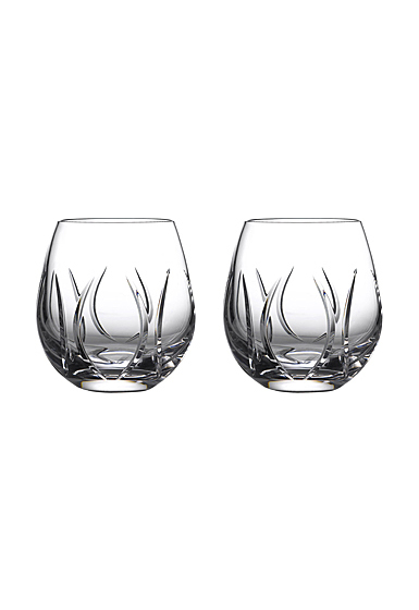 Waterford Crystal Tonn Stemless Wine Pair