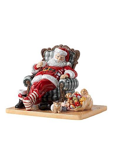 Royal Doulton 2021 Santa's Restful Moment
