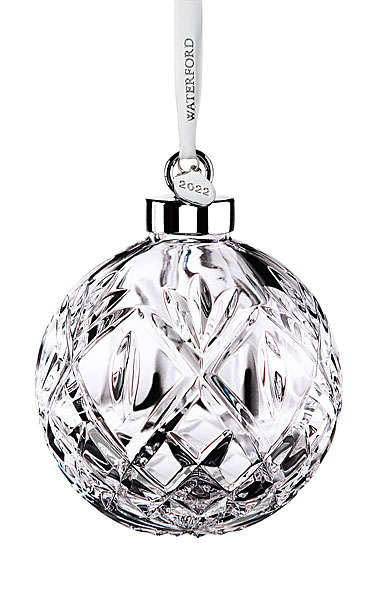 Waterford Crystal 2020 Huntley Ball Ornament, Limited Edition