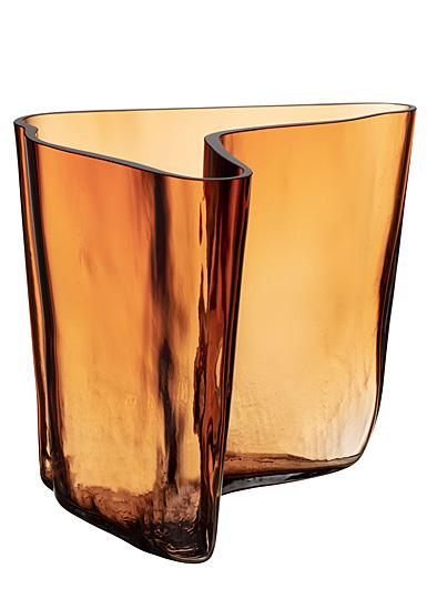 "Iittala Aalto Vase 6.75"" Copper"