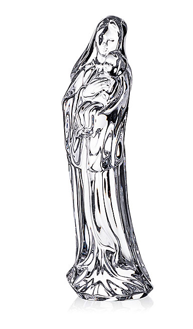 Waterford Crystal Mother and Child Sculpture