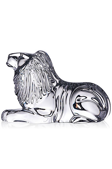 Waterford Crystal Lion Collectible