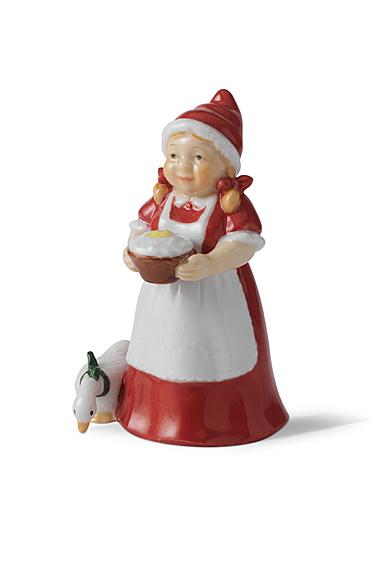 Royal Copenhagen 2021 Annual Santa's Wife Figurine