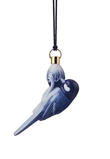 Royal Copenhagen 2021 Annual Christmas Ornament, Bird